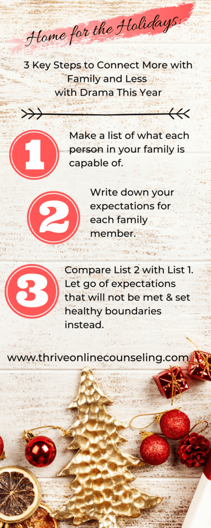 home for the holidays: 3 Key Tips To Connecting with Family